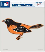 "Baltimore Orioles MLB Team Logo Wincraft 8"" x 8"" Die Cut Full Color Decal"