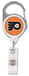 Philadelphia Flyers NHL Team Logo Wincraft Premium ID Badge Holder with Clip