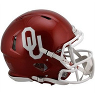 Oklahoma Sooners Riddell NCAA Authentic Revolution SPEED Pro Line Full Size Helmet