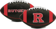 Rutgers Scarlett Knights Fotoball Sports NCAA PT6 Full Size Black Football