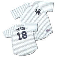 Johnny Damon New York Yankees Majestic Home Custom XL Jersey