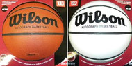 Wilson Official White Panel Full Size Basketball Model B0590R
