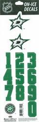 Dallas Stars Sportstar Officially Licensed Authentic Center Ice NHL Hockey Helmet Decal Kit #2