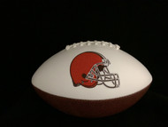 Cleveland Browns Rawlings Jarden Sports Signature NFL Full Size Fotoball Football Current Version (NEW 2015) - DEFLATED without Box/Pen