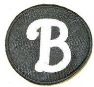 "Whip Buck & J Mahlon Jim Buck Jr. ""B"" Philadelphia Phillies 2011 Memorial Jersey Patch"