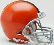 Cleveland Browns 2006-2014 Riddell NFL Throwback Replica 6-Pack Mini Helmet Set