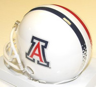 "Arizona Wildcats ""WHITE"" Riddell NCAA College Replica 6-Pack Mini Helmet Set"