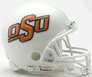 Oklahoma State OSU Cowboys Riddell NCAA College Replica 6-Pack Mini Helmet Set