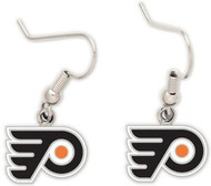 Philadelphia Flyers Wincraft Sports Hanging NHL Team Logo Earrings