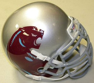Michigan Panthers SILVER USFL United States Football League Authentic Mini Helmet