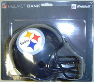 Pittsburgh Steelers Riddell NFL Mini Helmet Bank