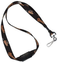 Baltimore Orioles Wincraft Sports MLB Team Logo Reversible Breakaway Clip Lanyard