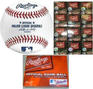 Rawlings Official MLB Game Major League Baseballs BUD SELIG