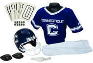 Connecticut Huskies UCONN Franklin Deluxe Youth / Kids Football Uniform Set - Size Small