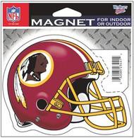 """Washington Redskins NFL Team Logo Wincraft Sports 4"""" Die Cut Logo Magnet"""
