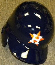 Houston Astros Rawlings Full Size Authentic Left Handed Batting Helmet - Right Flap Regular