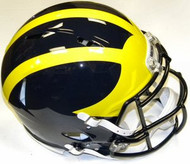 Michigan Wolverines Riddell NCAA Authentic Revolution SPEED Pro Line Full Size Helmet