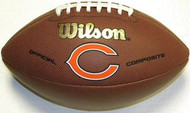 Chicago Bears Official Wilson Composite NFL Full Size Football Model WTF1748