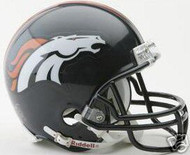 Denver Broncos Riddell NFL Replica Mini Helmet - Case of 24 Helmets
