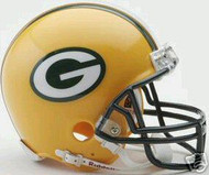 Green Bay Packers Riddell NFL Replica Mini Helmet - Case of 24 Helmets