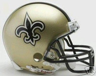 New Orleans Saints Riddell NFL Replica Mini Helmet - Case of 24 Helmets