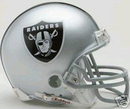 Oakland Raiders Riddell NFL Replica Mini Helmet - Case of 24 Helmets