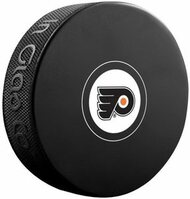 Philadelphia Flyers NHL Team Logo Autograph Model Hockey Puck - Current Logo