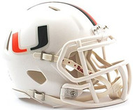 Miami Hurricanes Riddell NCAA Replica Revolution SPEED Mini Helmet