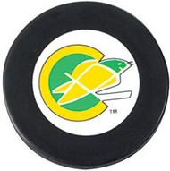 California Golden Seals NHL Team Logo Throwback Autograph Hockey Puck 1967-1976