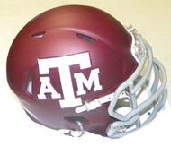 Texas A&M Aggies RED Riddell NCAA Replica Revolution SPEED Mini Helmet
