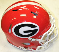 Georgia Bulldogs Riddell NCAA Authentic Revolution SPEED Pro Line Full Size Helmet
