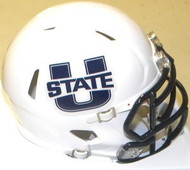 Utah State Aggies Riddell NCAA Replica Revolution SPEED Mini Helmet