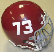 Remember the Titans #73 T C Williams High School 2000 Football Movie Authentic Mini Helmet