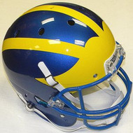 Delaware Fightin' Blue Hens Schutt NCAA College Football Team Full Size Replica XP Helmet