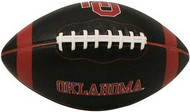 Oklahoma Sooners Fotoball Jarden Sports NCAA PT6 Full Size Black Football