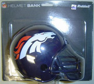 Denver Broncos Riddell NFL Mini Helmet Bank
