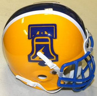 Philadelphia Bell WFL World Football League Authentic Mini Helmet