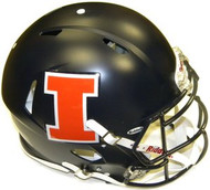 Illinois Fighting Illini MATTE Riddell NCAA Authentic Revolution SPEED Pro Line Full Size Helmet