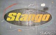 John Stango Official Trademark Logo Grey 33x21 John Stango Original Abstract Art Acrylic On Canvas Painting