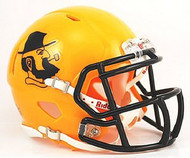 Appalachian State Mountaineers YELLOW YOSEF Riddell NCAA Replica Revolution SPEED Mini Helmet
