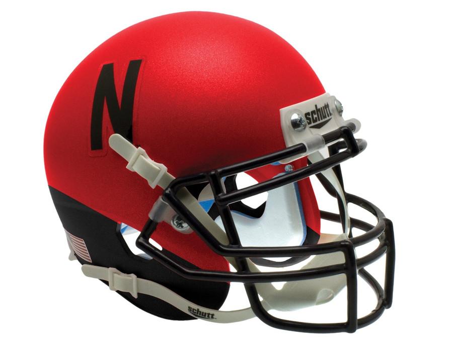 Schutt NCAA Nebraska Cornhuskers Mini Authentic