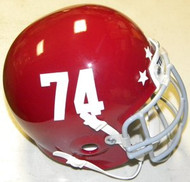 Remember the Titans #74 T C Williams High School 2000 Football Movie Authentic Mini Helmet