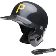 "Pittsburgh Pirates Rawlings ""On Field"" Mini replica batting helmet"