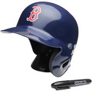 """Boston Red Sox Rawlings """"On Field"""" Mini replica batting helmet"""