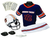 Auburn Tigers Franklin Deluxe Youth / Kids Football Uniform Set - Size Small