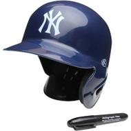 "New York Yankees Rawlings ""On Field"" Mini replica batting helmet"