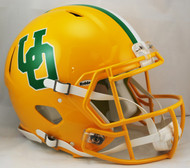 Oregon Ducks Yellow Throwback Riddell NCAA Full Size Authentic Speed Helmet