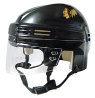 Chicago Blackhawks NHL Black Player Mini Hockey Helmet