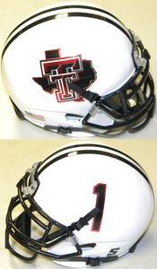 Texas Longhorns NCAA College Football Team Logo Schutt Authentic Mini Helmet