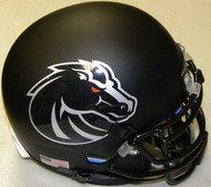 Boise State Broncos Blackout Schutt NCAA College Football Authentic Team Mini Helmet